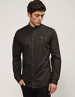 Vivienne Westwood Stretch Poplin Long Sleeve Shirt