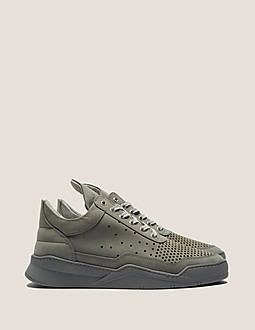 Filling Pieces Low Top Peforated Trainer