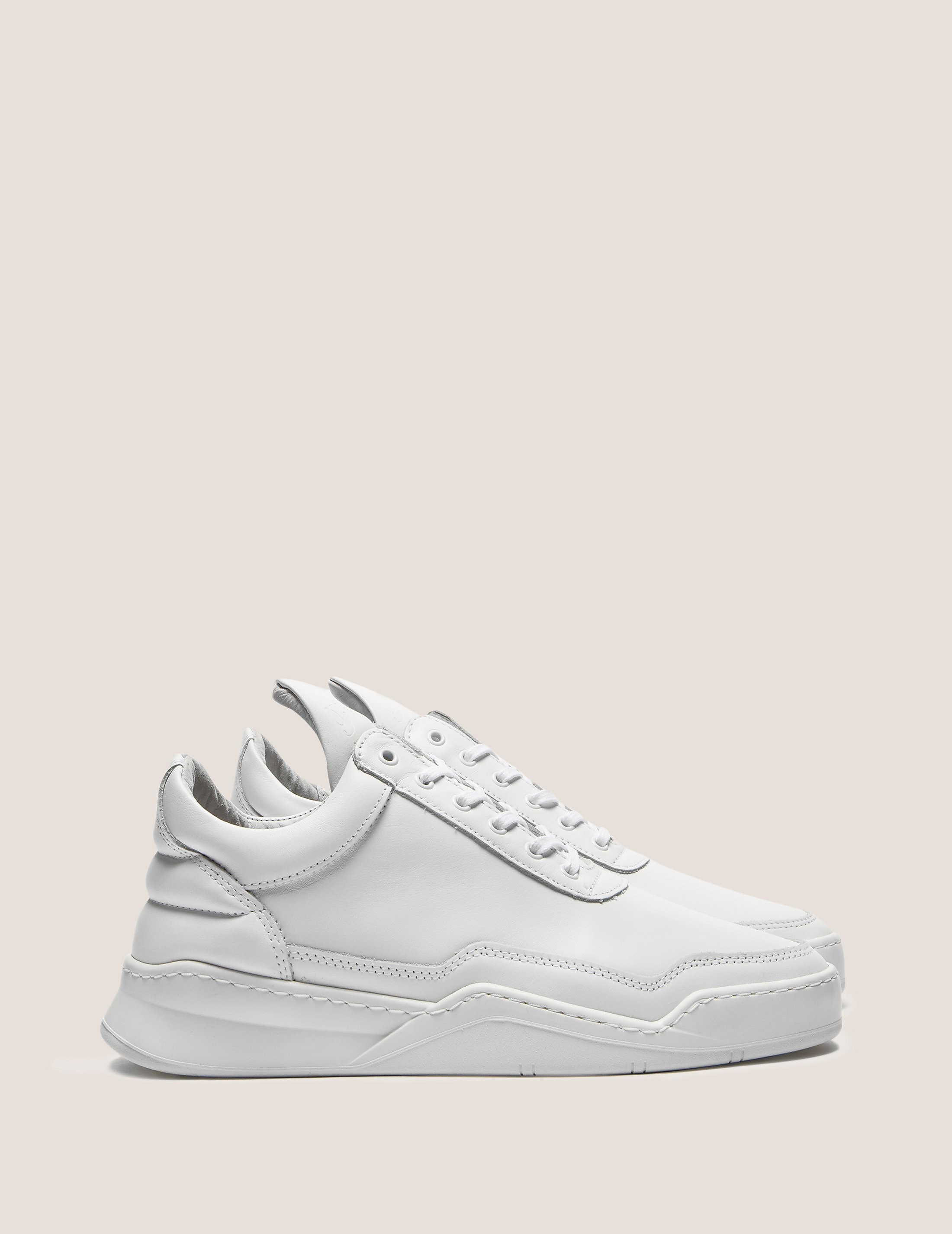 Filling Pieces Low Top Ghost Trainers