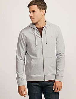 Michael Kors Stretch Fleece Hooded Sweatshirt