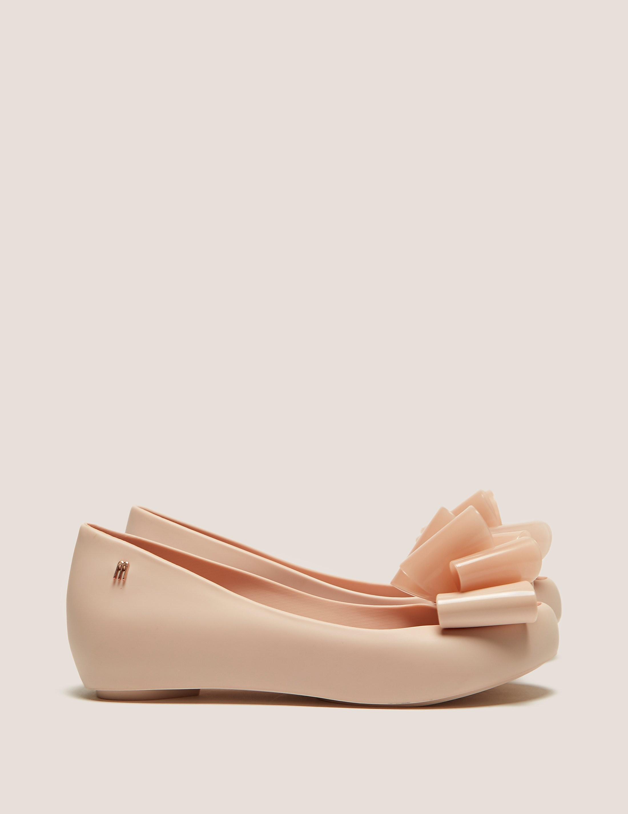 Melissa Ultragirl Twin Bow Ballet Pump