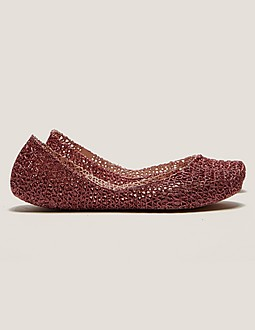 Melissa X Campana Glitter Shoe