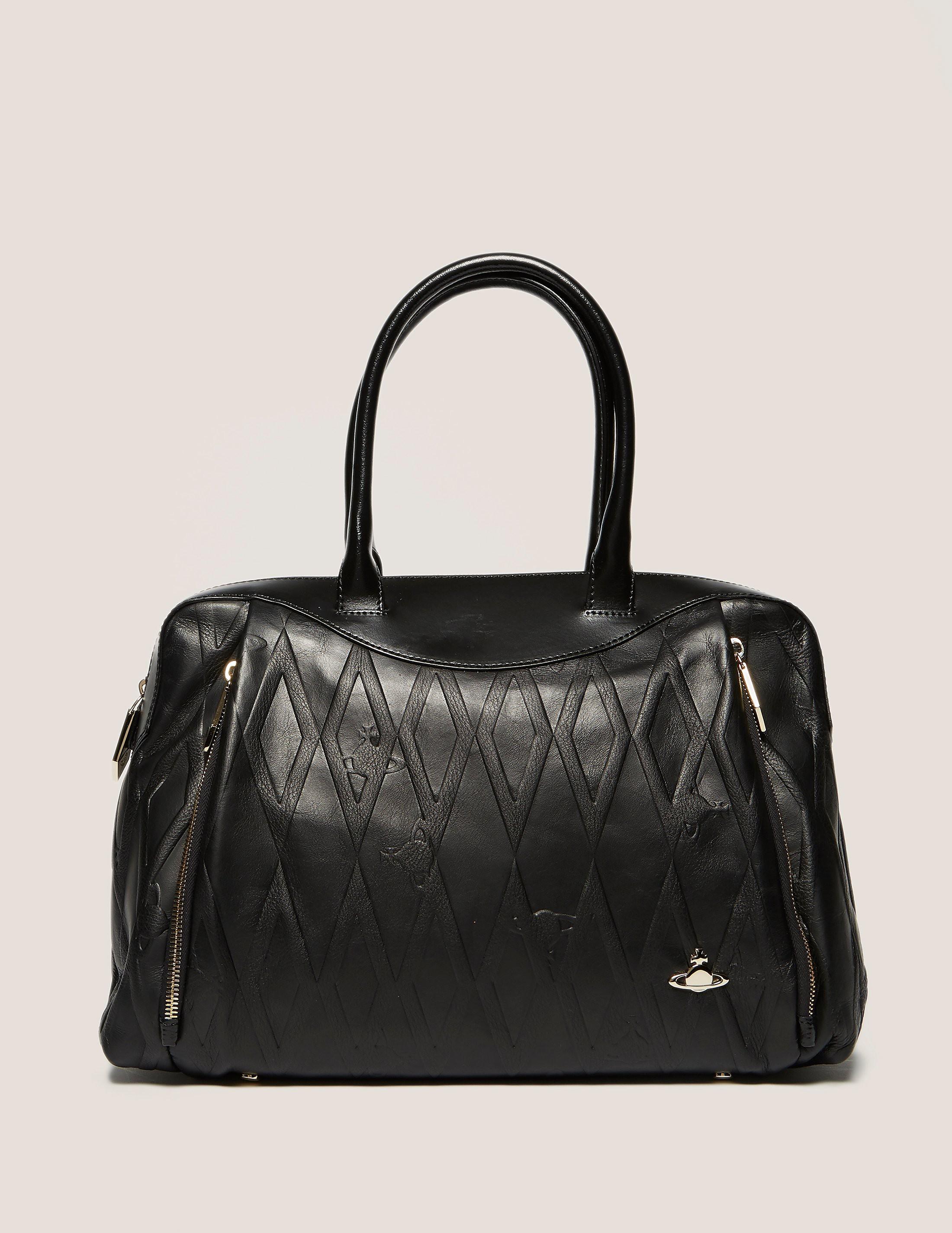 Vivienne Westwood Diamond Orb Shopper Bag