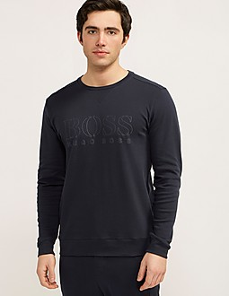 BOSS Crew Neck Logo Sweatshirt