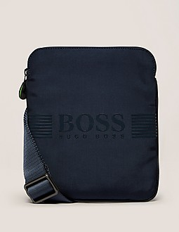 BOSS Green Pixel Small Stash Bag