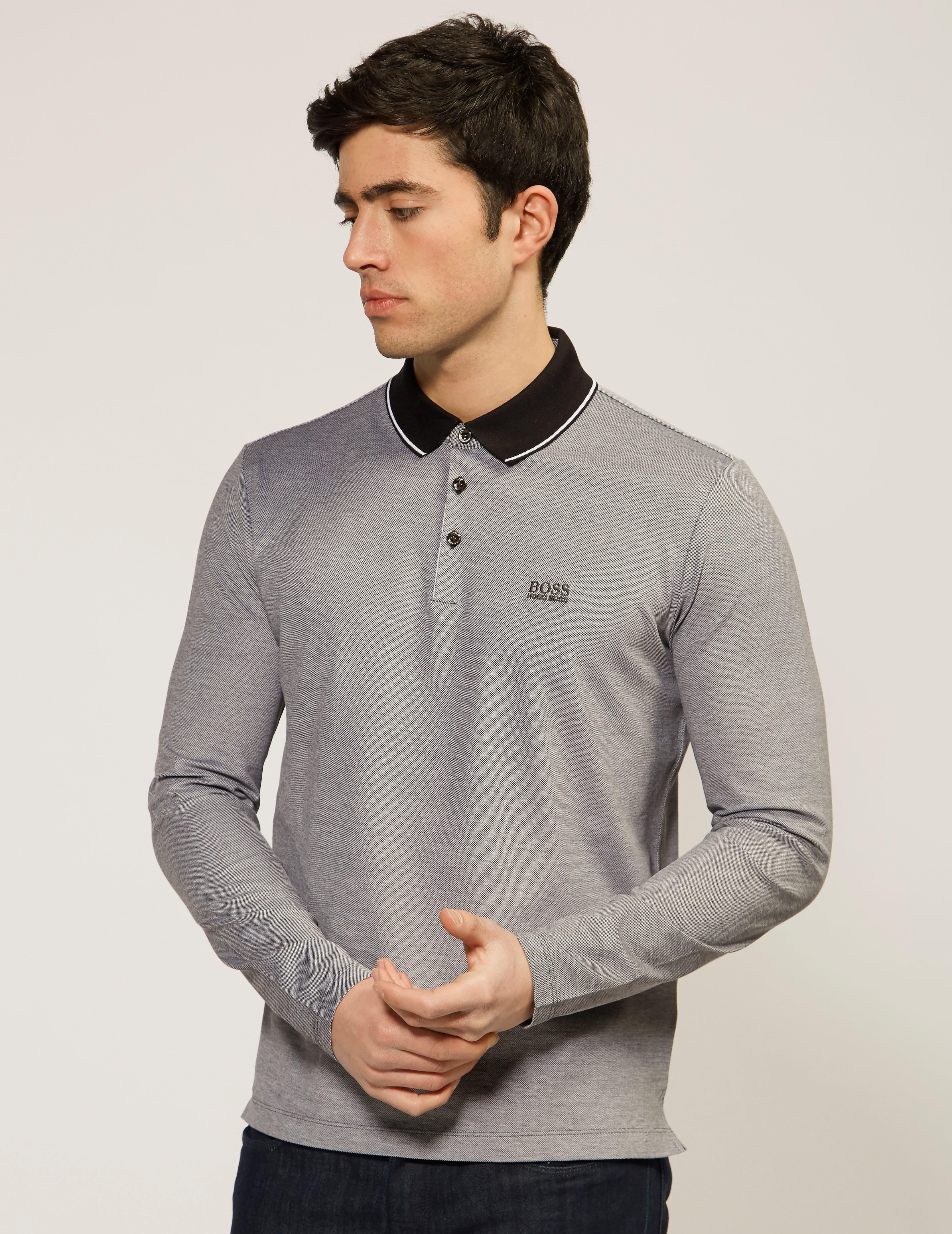 BOSS Pearl 03 Long Sleeve Polo Shirt