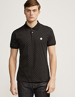 Pretty Green Polka Dot Polo Shirt