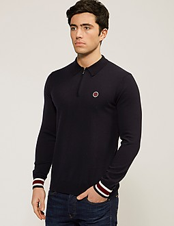 Pretty Green Fernbank Knit Polo