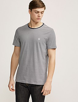 Pretty Green Feeder Striped T-Shirt