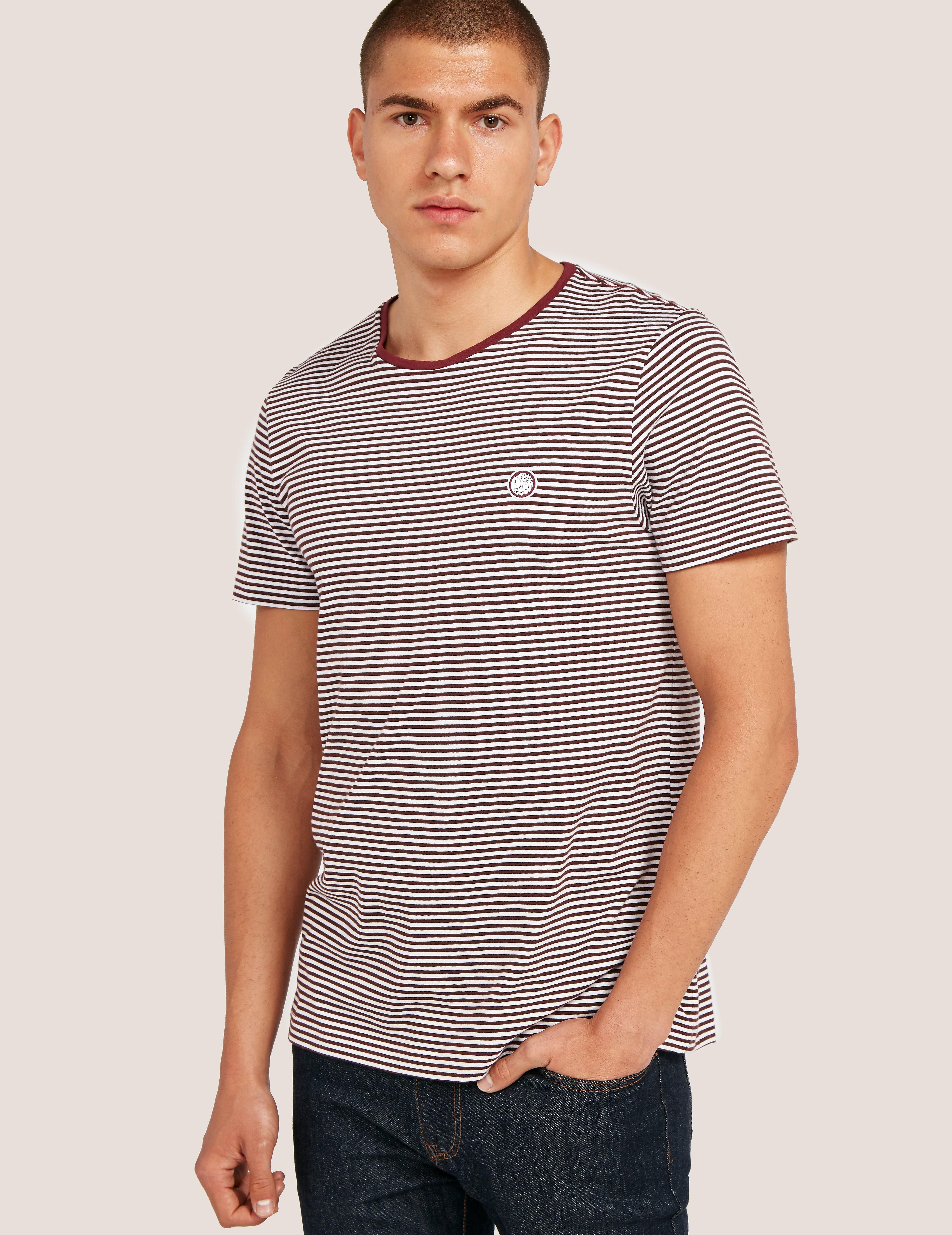 Pretty Green Feeder Striped T-Shirt