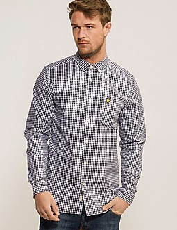 Lyle & Scott Gingham Long Sleeve Shirt