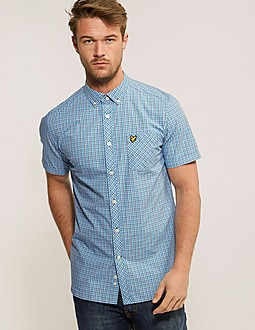 Lyle & Scott Check Short Sleeve Shirt