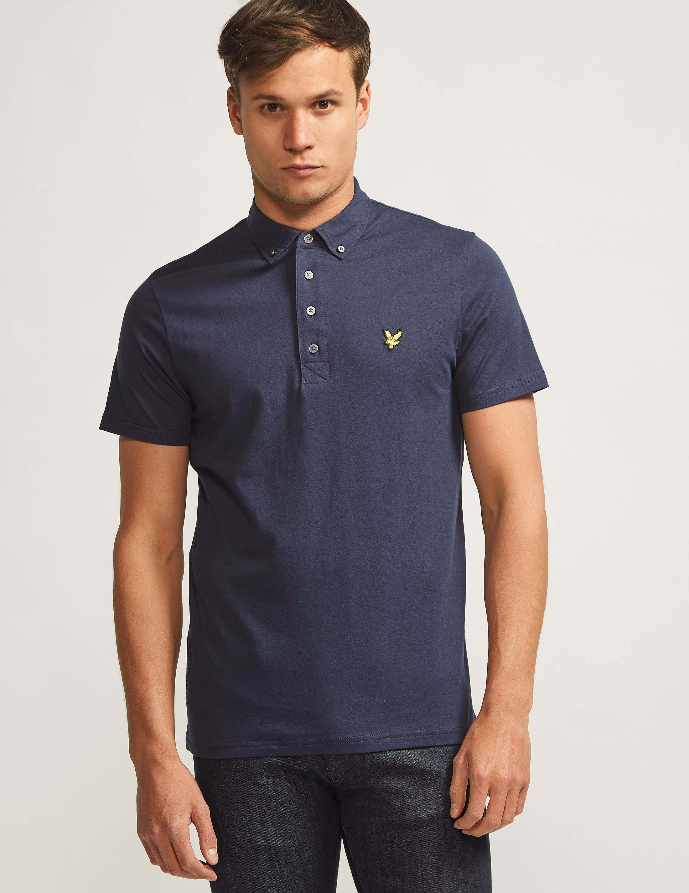 Lyle & Scott Jersey Short Sleeve Polo Shirt