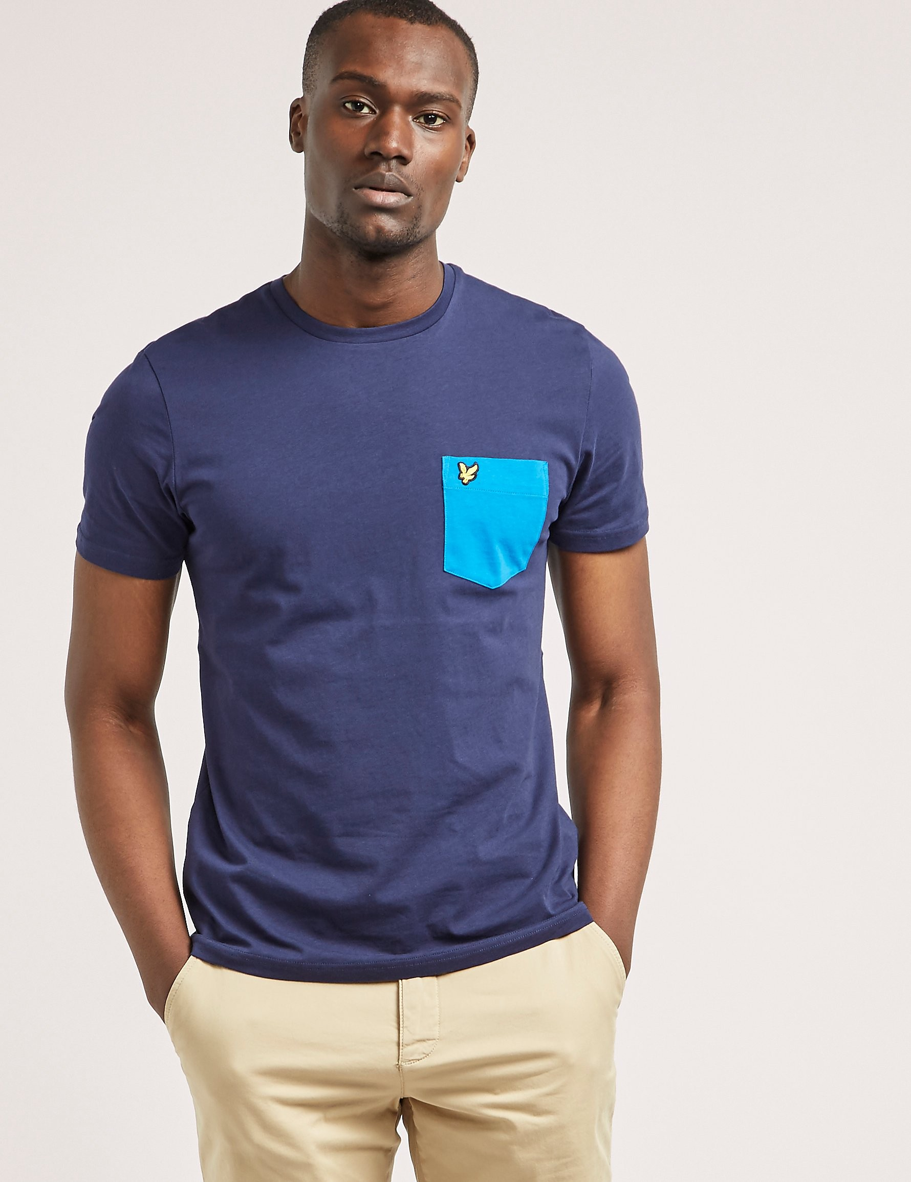 Lyle & Scott Contrast Pocket T-shirt