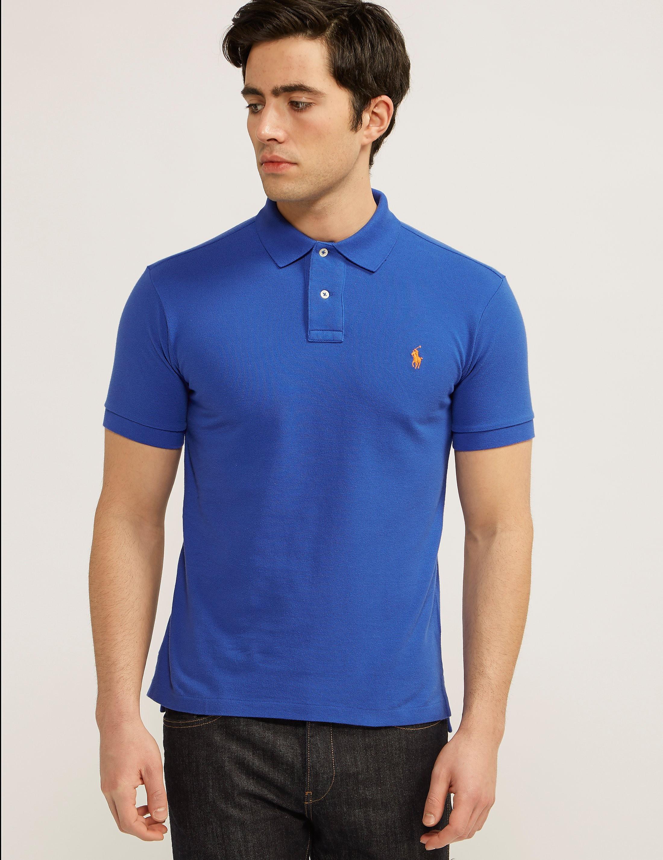 Polo Ralph Lauren Slim Fit Short Sleeve Polo Shirt