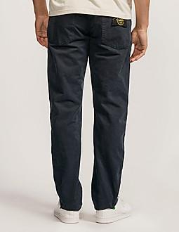 Stone Island Dyed Garbadine Regular Fit Jeans - Long