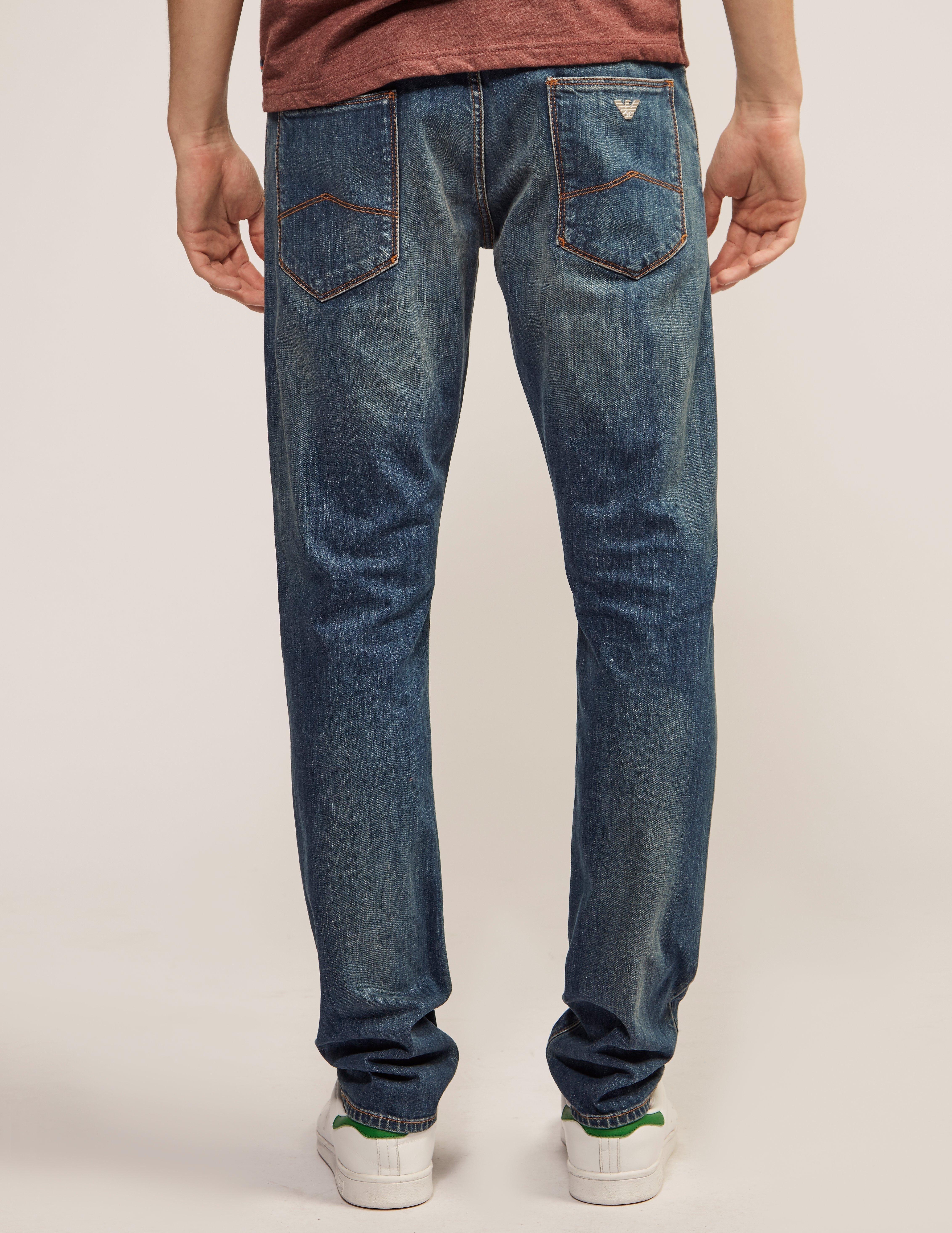 Armani Jeans J06 Shape Slim Fit Jeans