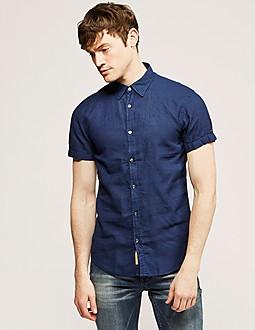 Scotch & Soda Short Sleeve Linen Shirt