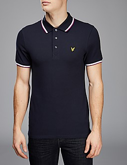 Lyle & Scott Tip Polo Shirt