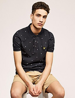 Lyle & Scott Micro Square Polo Shirt