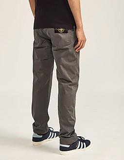Stone Island Tapered Fit Gabardine Jeans