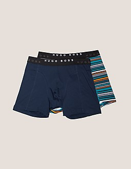 BOSS Cyclist Two Pack Boxer Shorts
