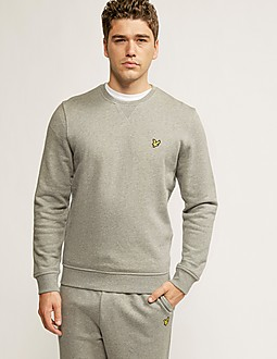Lyle & Scott Plain Crew Sweatshirt