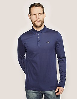 Cruyff Arjan Long Sleeve Polo Shirt