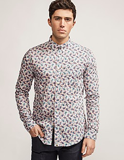 Pretty Green Liberty Paisley Print Shirt