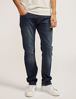 Armani Jeans J45 Regular Fit Straight Leg Jean - Short