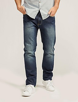 Armani Jeans J45 Straight Leg Regular Fit Jeans