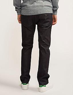 Armani Jeans J45 Regular Fit Bull Denim Jeans - Short