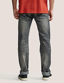 Armani Jeans J28 Slim Fit Jeans - Long