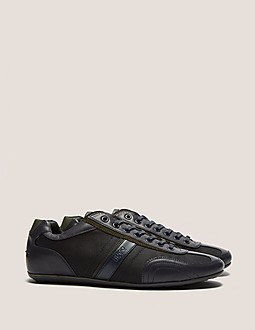 HUGO Thatoz Leather Trim Trainers