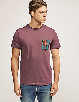 Lyle & Scott T-Shirt Tartan Pocket