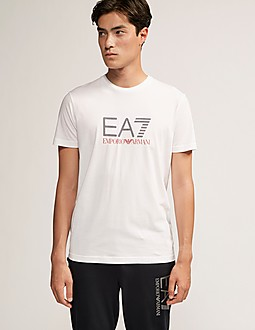 Emporio Armani EA7 T-Shirt Rear Eagle