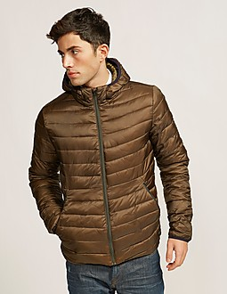 Scotch & Soda Hooded Quilt Jacket