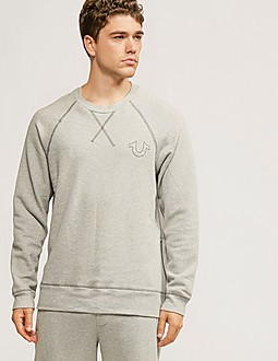 True Religion Zip Detail Sweatshirt