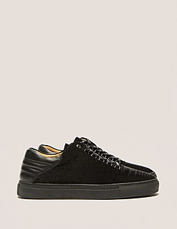 Android Homme Propulsion Lo Crocodile Velvet Trainer