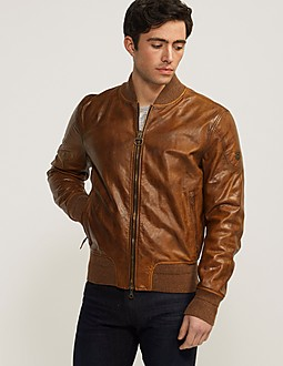 Matchless Inverness Leather Bomber Jacket