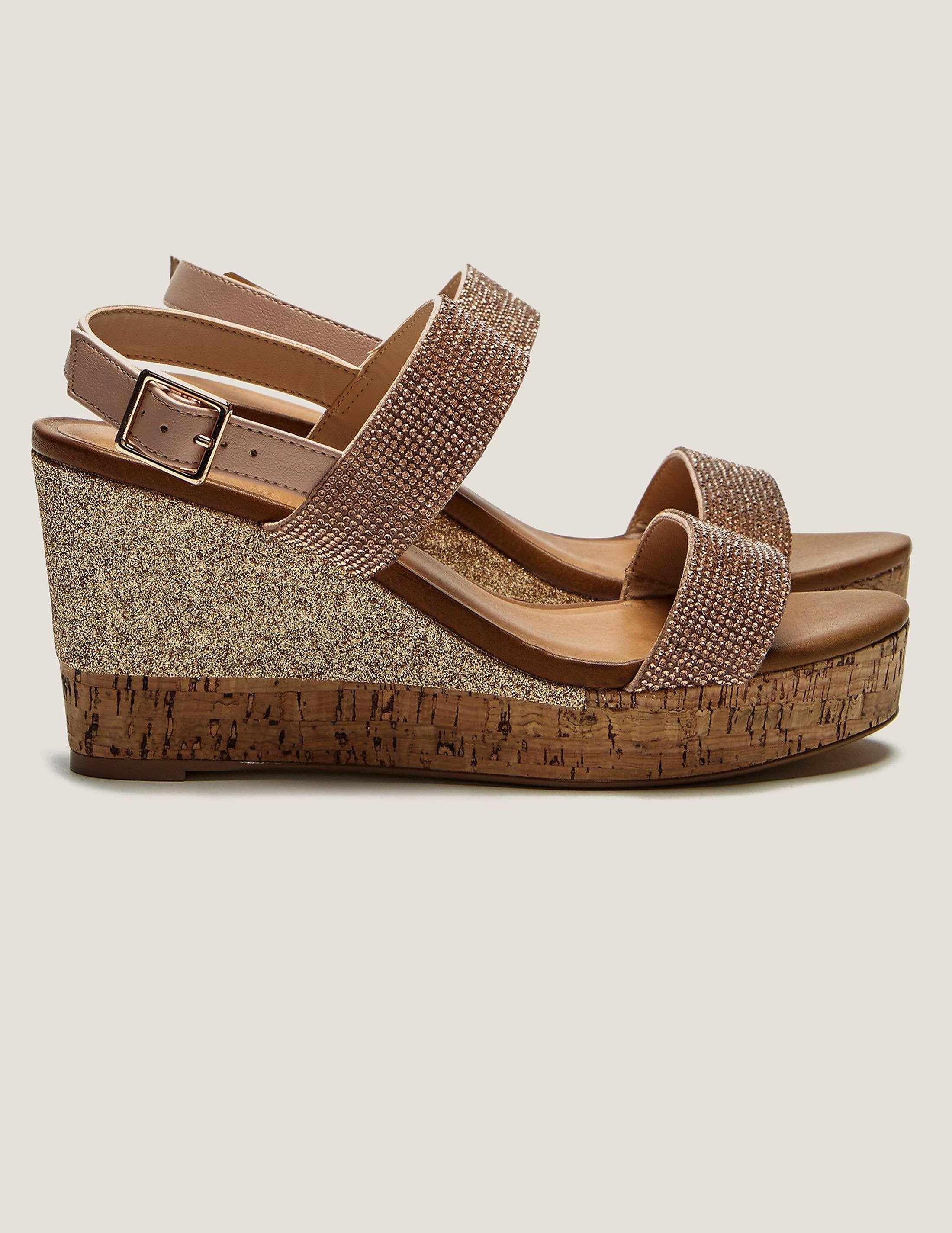 Ilse Jacobsen Poppy Diamonte Wedge