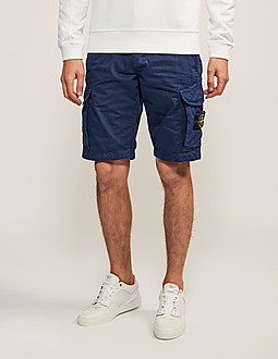 Stone Island Washed Cargo Short