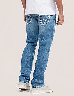 True Religion Ricky Flap Super T Relaxed Fit Jeans