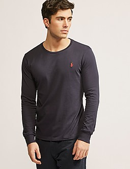 Polo Ralph Lauren Long Sleeve Custom Fit T-Shirt
