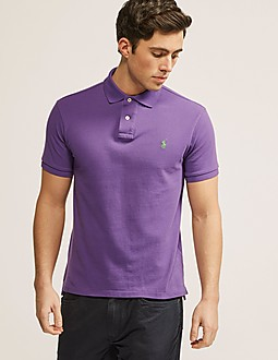 Polo Ralph Lauren Short Sleeve Slim Fit Polo Shirt