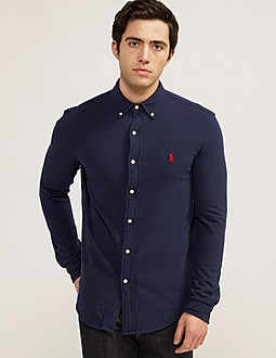 Polo Ralph Lauren Long Sleeve Button Through Shirt
