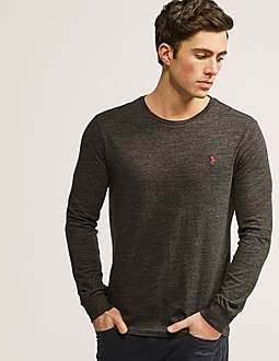 Polo Ralph Lauren Long Sleeve Custom Fit T-Shirt