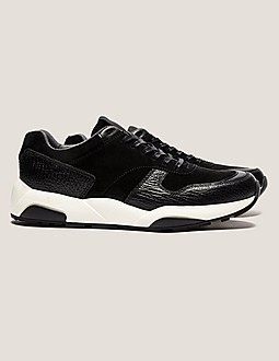 Z Zegna Suede Run Trainer