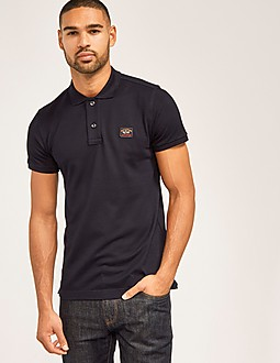 Paul and Shark Short Sleeved Pique Polo Shirt