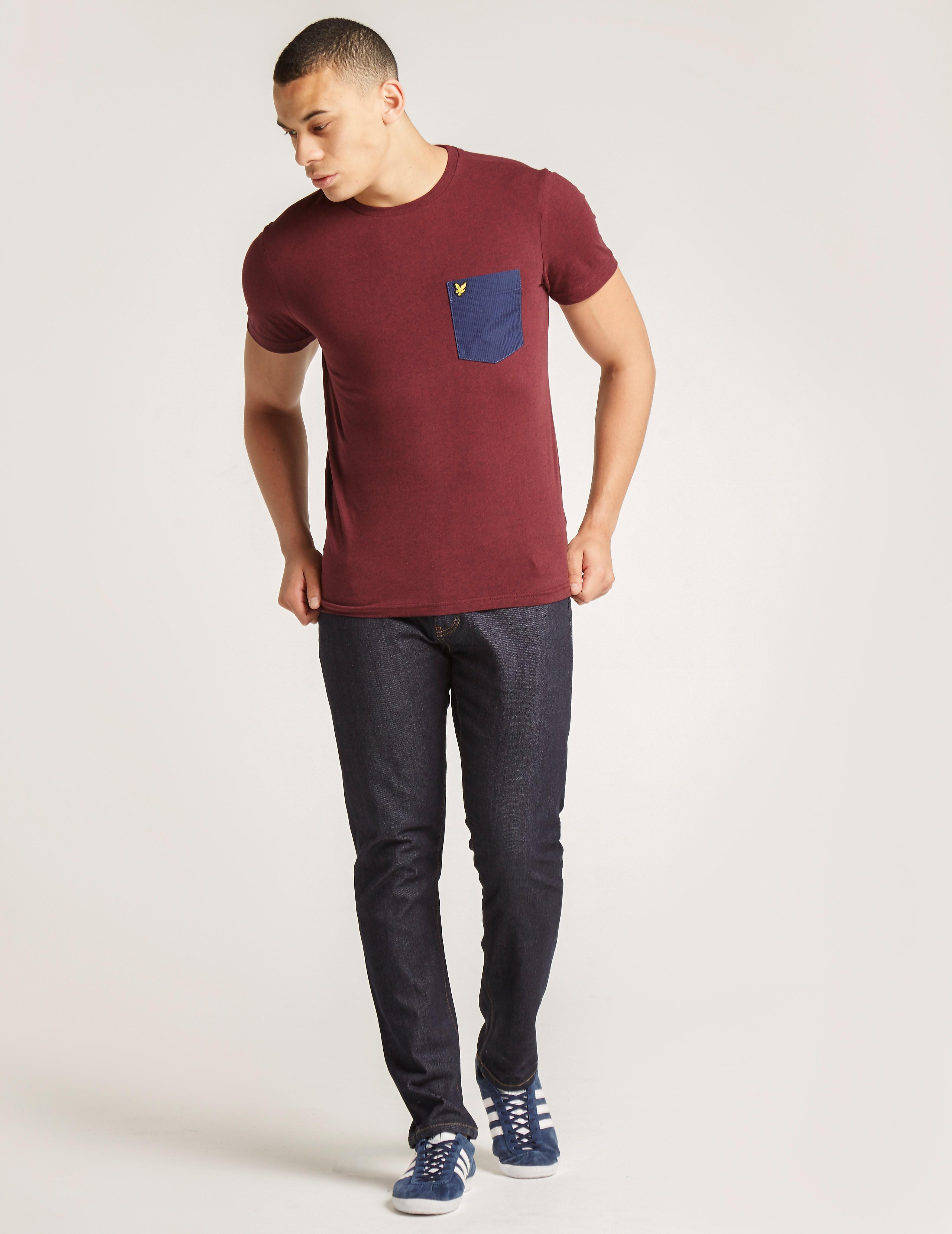Lyle & Scott Pin Dot Pocket T-Shirt